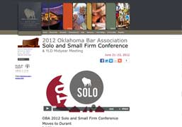 OBA Solo and Small Firm Conference 2012